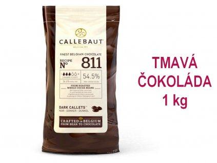 TMAVÁ čokoláda Callebaut 54,5% 1 kg 1