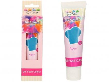 Jedlá gélová farba Aqua MODRÁ 30g 1
