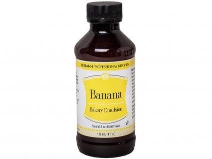 Banánová emulzia LorAnn 118 ml