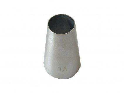 Hladká špička kovová 1A