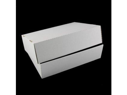 449 Krabica kartónová biela dvojdielna 37 x 29 x 9 cm