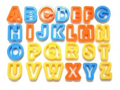 Vykrajovacia abeceda písmená 28 ks