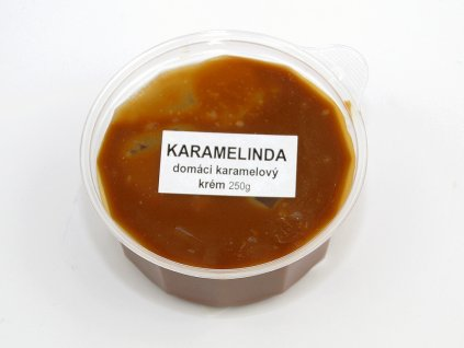 KARAMELINDA domáci karamelový krém 250g HoHo
