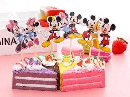 Mickey a Minnie s priateľmi zapichovátka