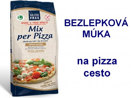 Bezlepková zmes na prípravu pizze Mix per Pizza NUTRI FREE 1 kg