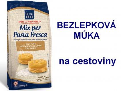 Bezlepková múka na cestoviny Mix per Pasta Fresca NUTRI FREE 1 kg