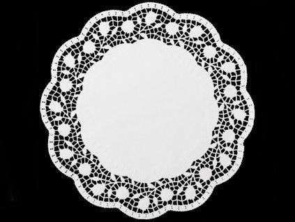 Ozdobný papier pod tortu okrúhly O 30 cm (15ks)
