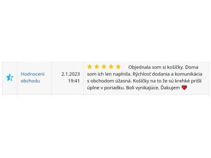 Kakaové košícky na plnenie 300g 2