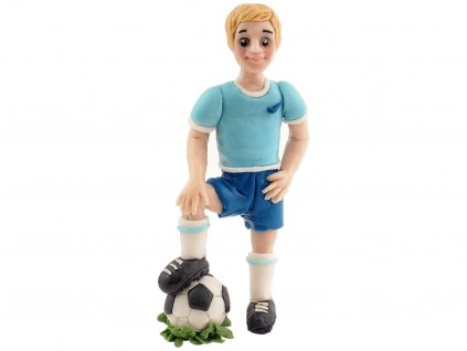 Futbalista na lopte