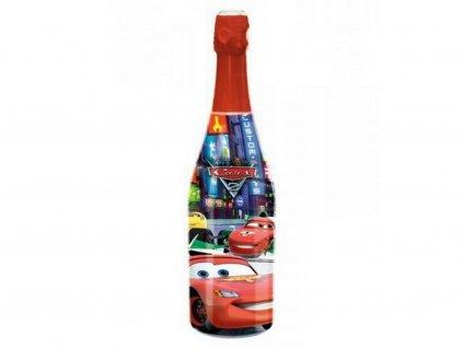 Detský šampus CARS (McQueen) s jahodovo jablkovou štavou 750 ml