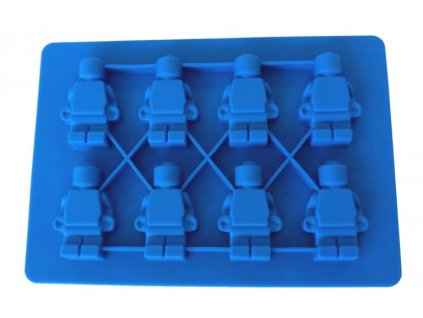 00239 Silikónová forma na ľad lego postavičky