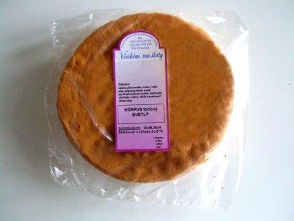 Korpus tortový orechový 320 g
