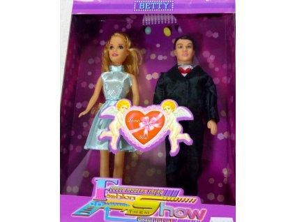 Bábiky 2 ks (žena+muž)