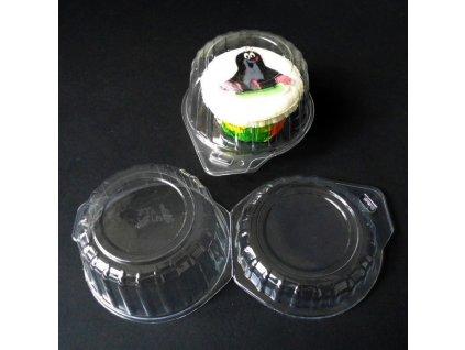 00845 Plastový obal na muffiny