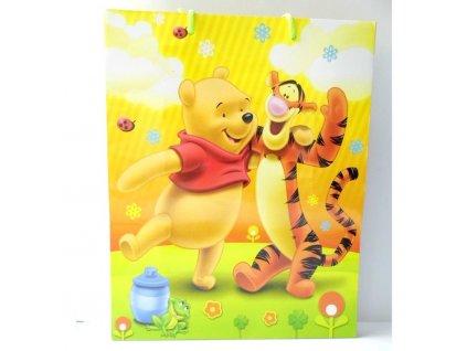 01336 Darčeková taška Disney macko Pú a tiger 33x26,5x11,5cm
