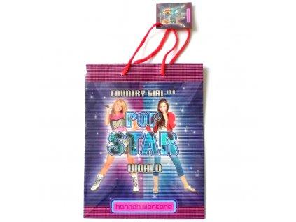 01354 Darčeková taška malá Hannah Montana 17,5x23x9,5cm