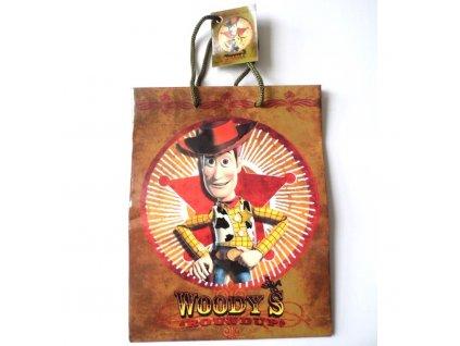 01361 Darčeková taška malá Toy Story Woodys 17,5x23x9,5 cm