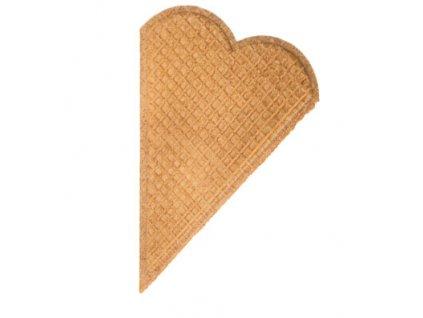 Srdce oblátky na zdobenie toriet a zmrzlín