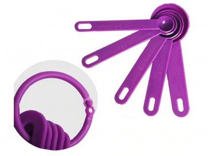 Lyžičky odmerky 5 ks (farebné)