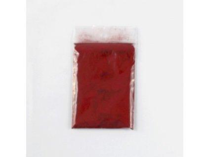 Jedlá farba svetločervená purpurová prášková