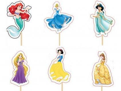 Princezné Disney zapichovátka 6 ks