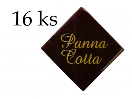 PANNA COTTA čokoládky s nápisom 20 ks HoHo