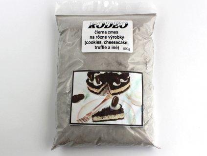 RODEO čierna zmes na rôzne výrobky (cookies, cheesecake, trufle a iné) 500g HoHo