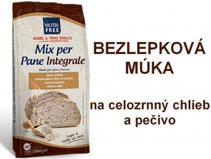 Bezlepková celozrnná múka Mix Per Pane INTEGRALE NUTRI FREE 1 kg