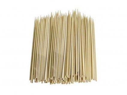 Bambusové špajdle ostré na ražniči 15 cm