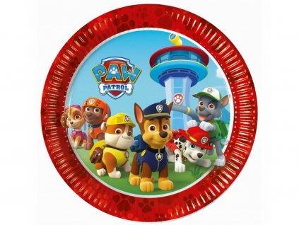 Papierový tanier Paw Patrol 6 ks