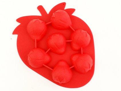 Silikónová forma jahody (7) 160x125 mm