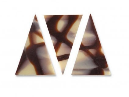 Čokoládová dekorácia trojuholník 35 ks DIABLO 1 8