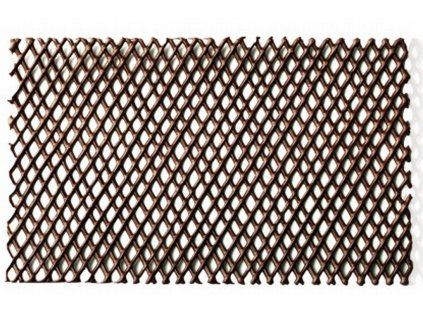 Čokoládová dekorácia MRIEŽKA tmavá 1 ks 10