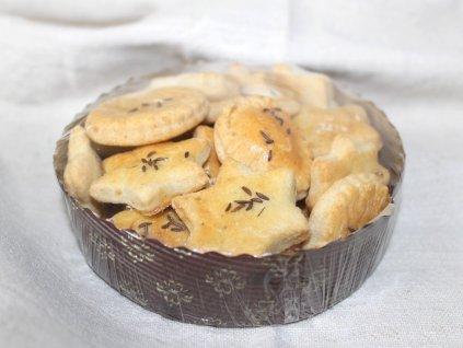 Domáce slané pečivo s nivou 150g + obal na ďalšie použitie (6)