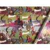 Darčekový baliaci papier CAMP ROCK Demi Lovato a Joe Jonas