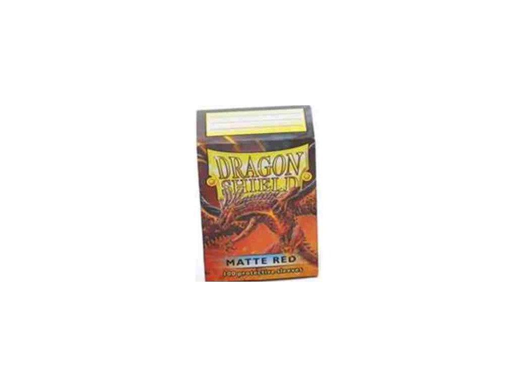 Dragon Shield Protector 100ks - Matte Red