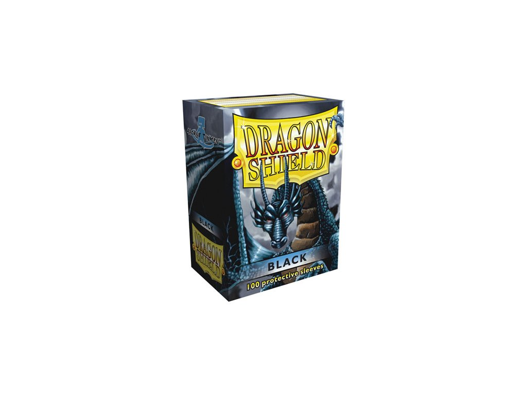 Dragon Shield Protector 100ks - Black Classic