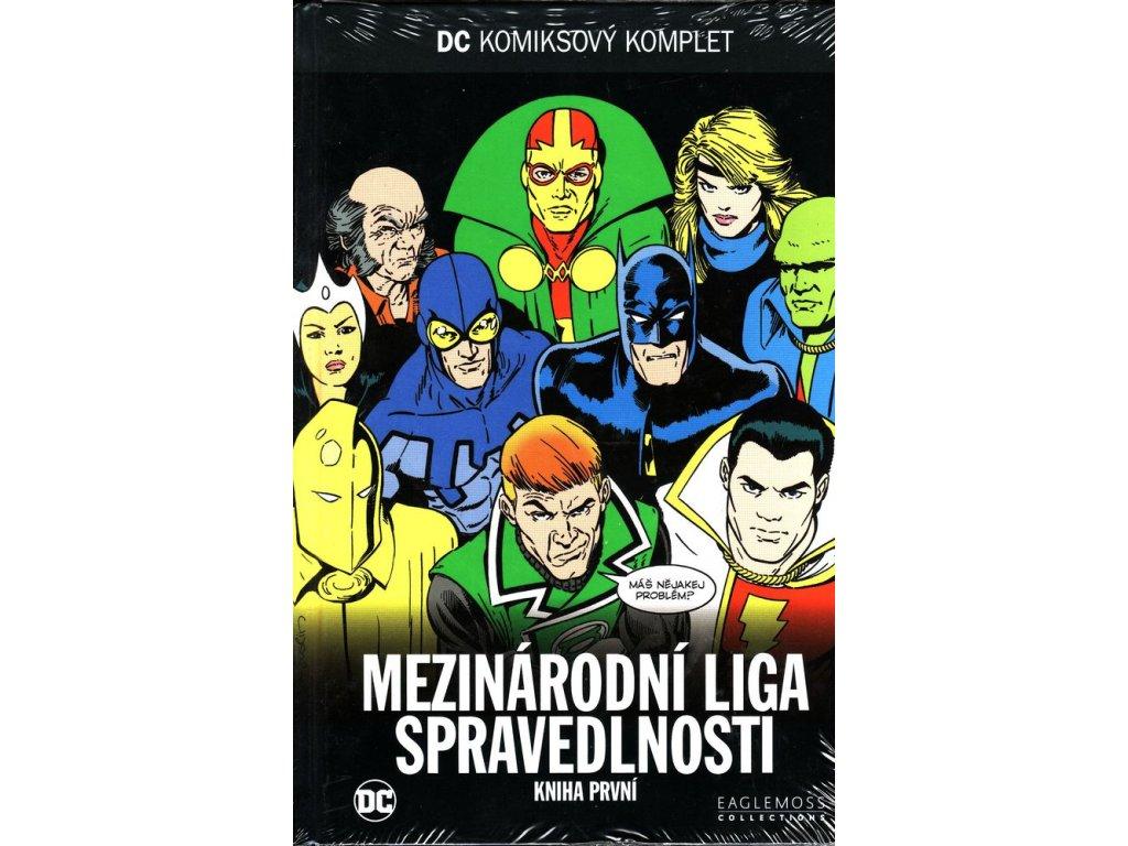 DC61 Mezinárodní liga spravedlnosti: Kniha první