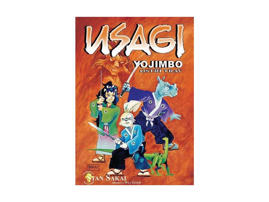 Sakai S.-Usagi Yojimbo:Ostří trav