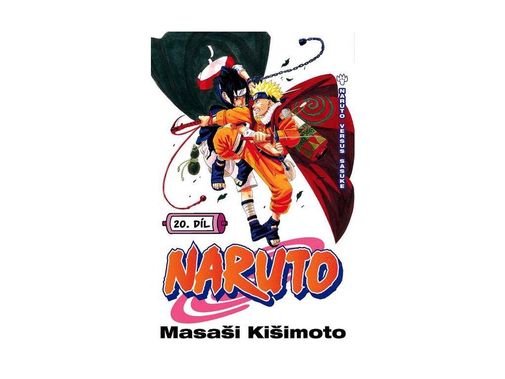 Kišimoto M.-Naruto 20:Naruto vs. Sasuke