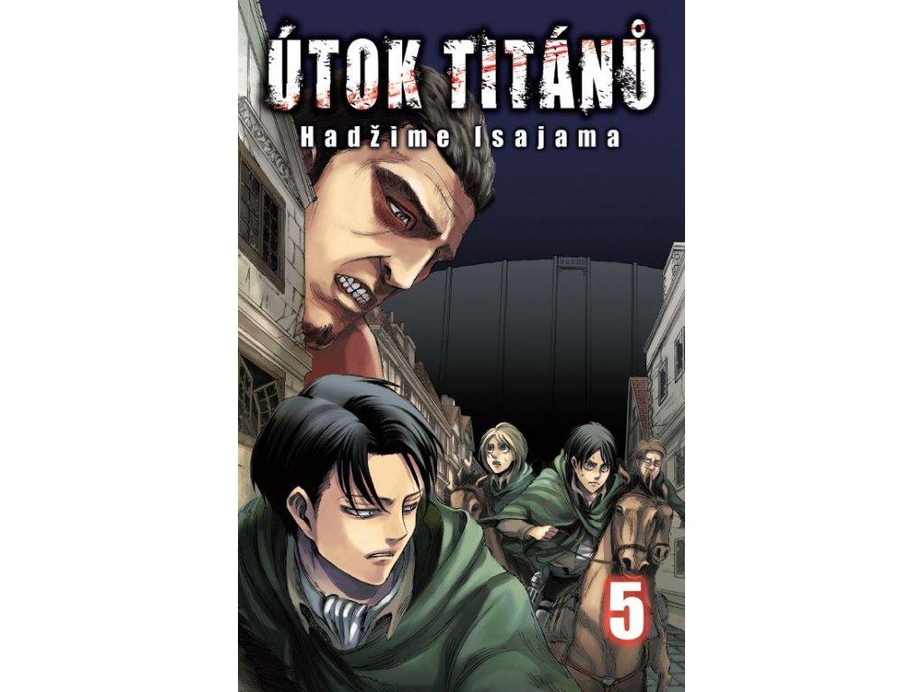 Isajama H.-Útok titánů 5