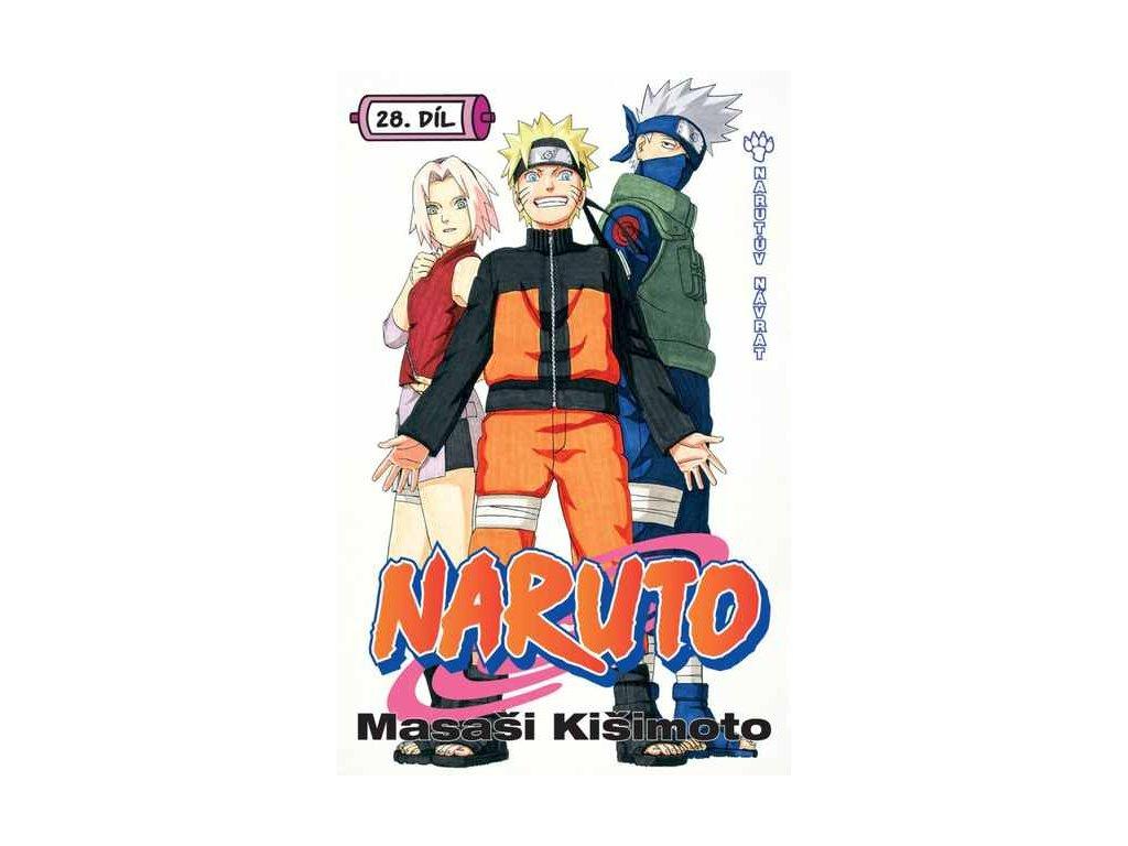 Kišimoto M.-Naruto 28:Narutův návrat