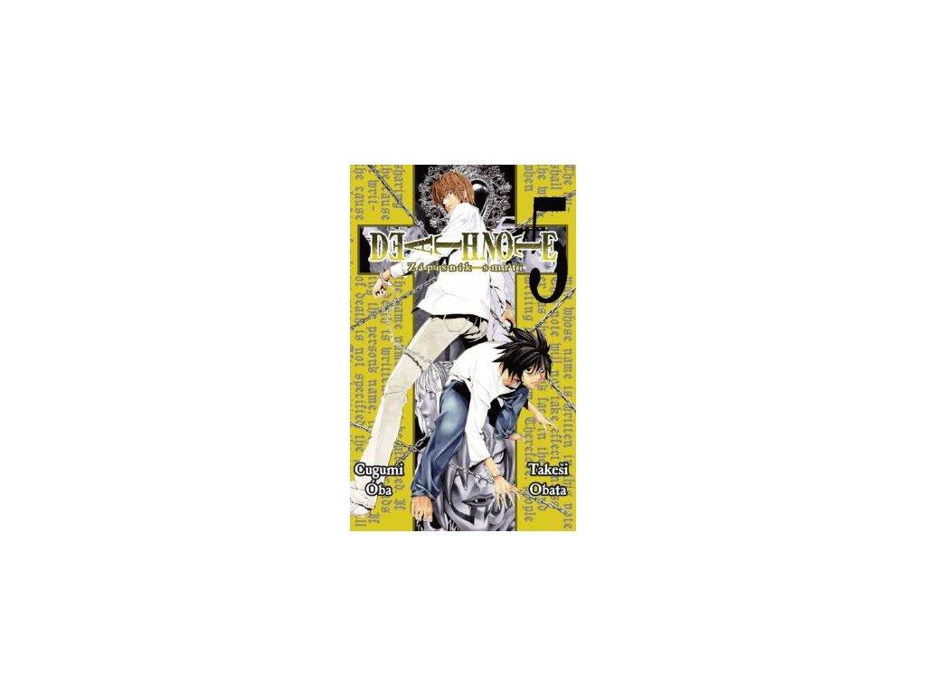 Óba C.,Obata T.-Death Note 5