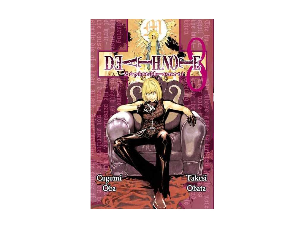 Óba C.,Obata T.-Death Note 8