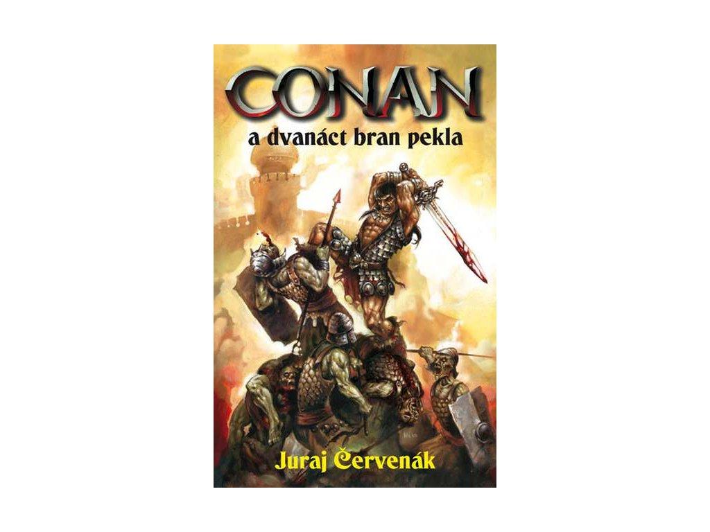 Červenák J.-Conan a dvanáct bran pekla