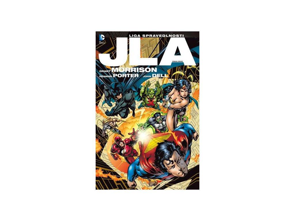 JLA: Liga spravedlnosti: Kniha první