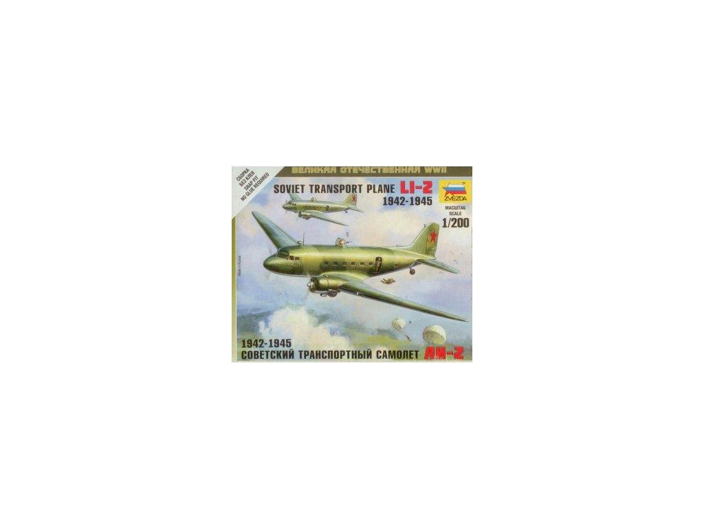 Soviet Litsunov Li-2