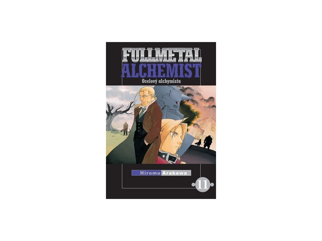 fullmetal alchemist ocelovy alchymista 11