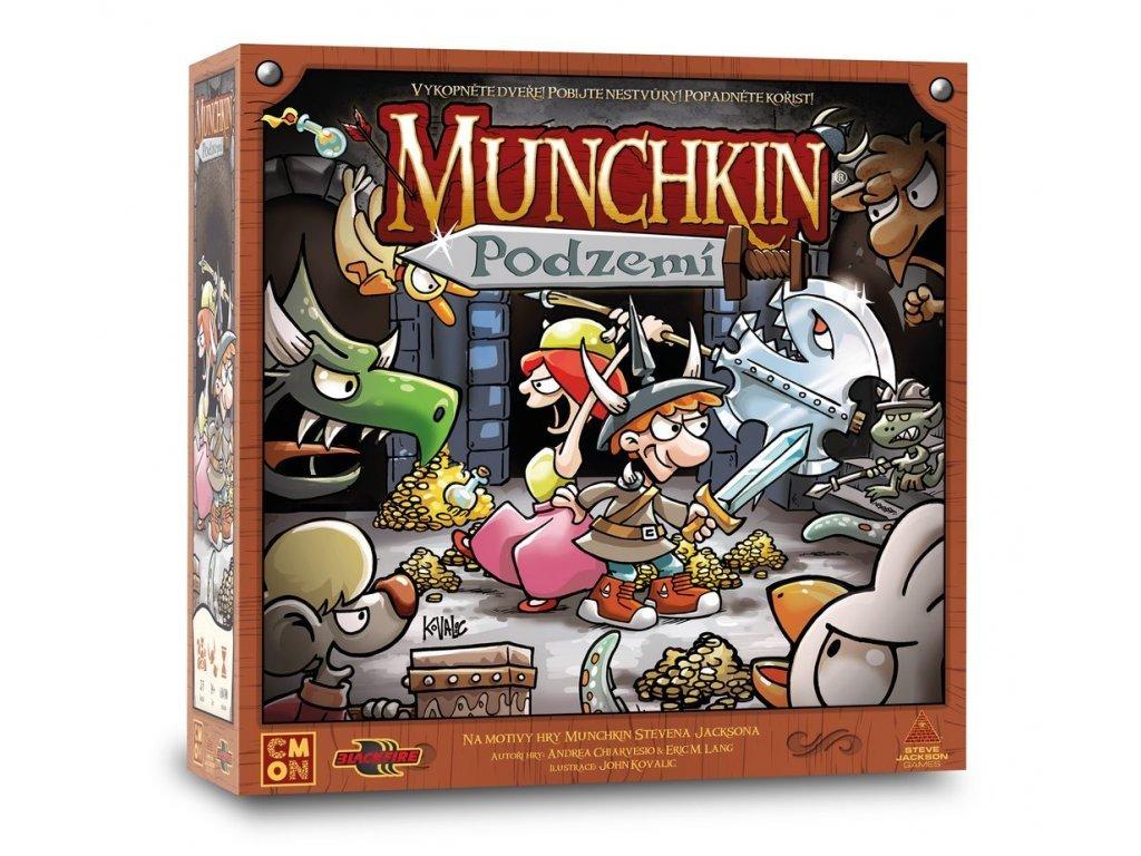 8552 munchkin podzemi