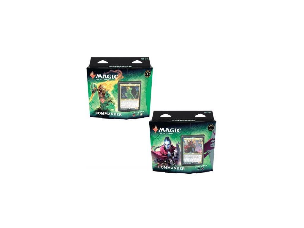 Magic the Gathering Zendikar Rissing Commander Deck  ...a k tomu dárek +  + UP obaly na karty Standard čiré 100 ks